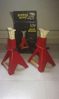 Vehicle 3 ton JACK STANDs.