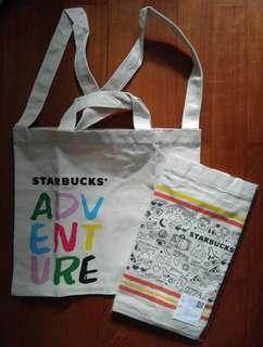 Thailand Starbucks tote bag