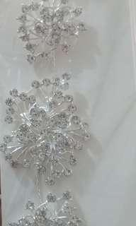 Hair accessory for wedding, debut etc