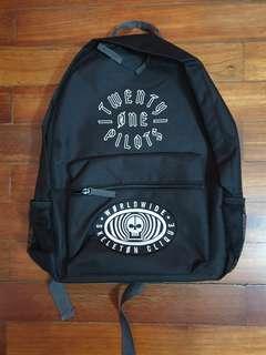 Printed 21 Pilots Backpack Bag