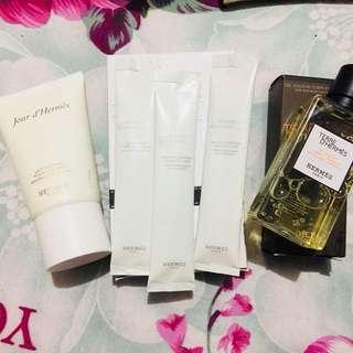 Hermès skin care bundle