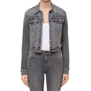 Pre loved Smokey Grey Denim Jacket #PRECNY60