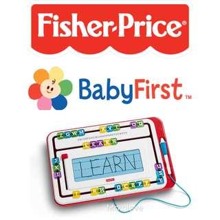 Ready Stock ! Brand New Fisher Price Think & Learn Alpha Slidewriter *USA Imported* (Best Baby Children Toddler Birthday Present Gift Set) *For Preschoolers Learning Early Development*