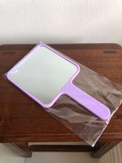 Hermo hand mirror in Lilac