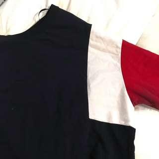 H&M Red, Blue, White sweater