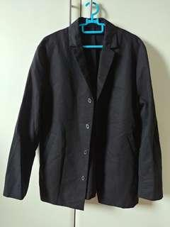 🚚 H&M Black Men Blazer Jacket Formal
