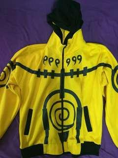 Naruto Hoodie RARE (Kyuubi Mode) Yellow and Black