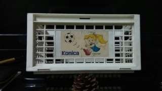 Konica 錄影帶五盒套裝盒