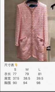 NA CHANEL 19C TWEED DRESS CRUISE COLLECTION