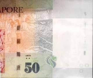💥ERROR 639999💥Portrait Series $50 Note with Serial Number 5JX 639999 & '⭐️⭐️' Symbol in UNC Mint Condition 👀