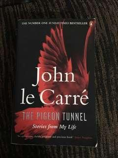 🚚 Espionage Novel - The Pigeon Tunnel by John Le Carre