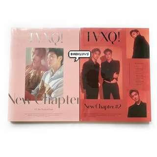 [W POSTER / SEALED INSTOCKS] TVXQ New Chapter #2 The Truth of Love
