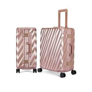 Rose Pink 24 inch luggage