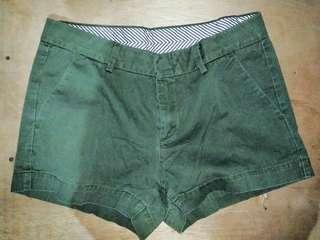 UNIQLO army green short