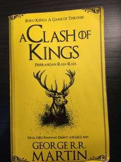 A Clash of Kings ( sequel  A Game of Thrones - A Song of Ice and Fire)