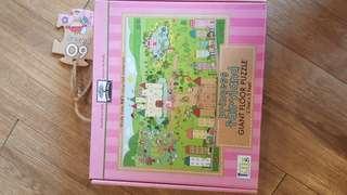 Giant Floor Jigsaw Puzzle Princess Fairyland 60 pcs
