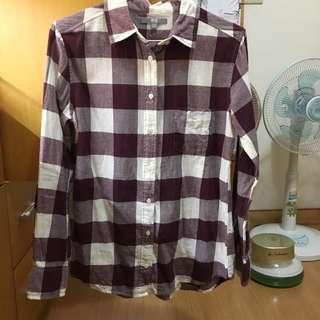🚚 Uniqlo 格子襯衫