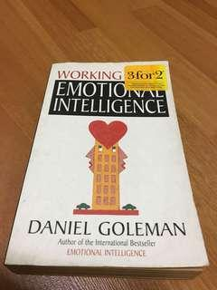 🚚 Self-Help Book - Working with Emotional Intelligence by Daniel Goleman