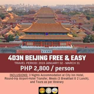 4D3N Beijing Free and Easy