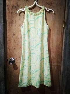 Light green dress