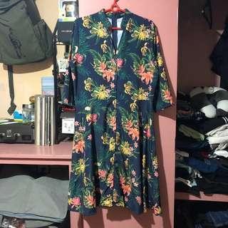 Tropic Office Dress
