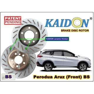 """PERODUA ARUZ disc brake rotor KAIDON (FRONT) type """"BS"""" / """"RS"""" spec"""