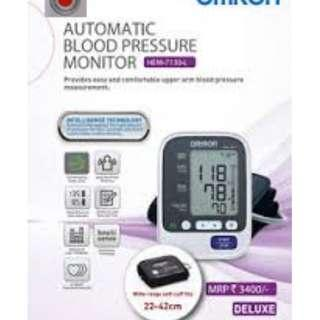 🚚 Large Cuff! - Omron Automatic BP Monitor - HEM 7130 L - 60 Memories with Date and Time - Brand New