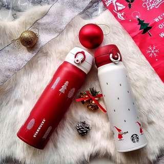 🆕Starbucks® Thermos® 🇲🇾 20oz Red/White Christmas
