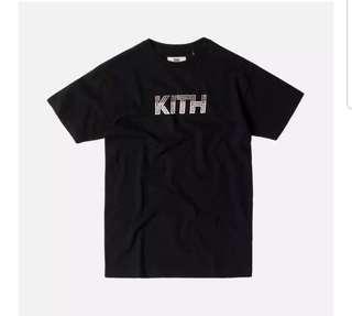 Sale! Kith Black Maze Tee (XS Size)