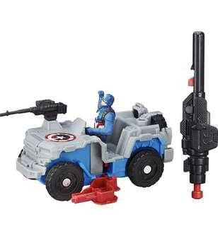 Civil War Captain America & Blast Action 4x4 Action Figure Vehicle