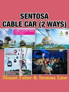SENTOSA CABLE CAR (2 WAYS)