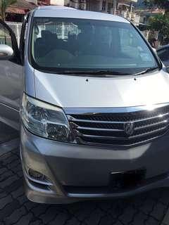 Toyota Alphard Vellfire 2.4 (A) for Rent