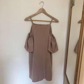 Sandy Cold Shoulder Dress