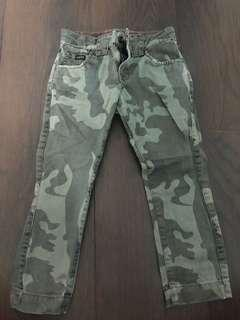 Guess camouflage print jeans-3yrs