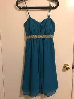 Bridesmaid/semi formal dress S