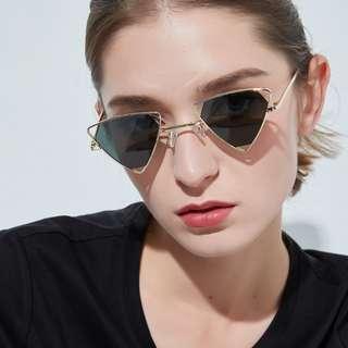 Triangle Frame Sunglasses