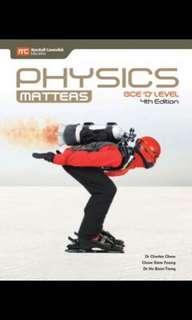 physics matters, chemistry , biology gce o level textbook
