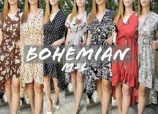 Bohemian LongbackDress