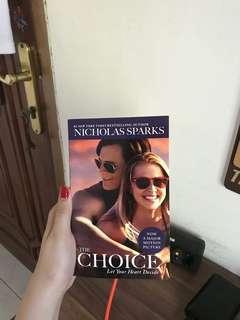 novel the choice by nicholas sparks