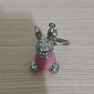 🚚 兔兔鑰匙圈(鐵製)