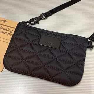 Pacsafe RFID blocking coin&card purse
