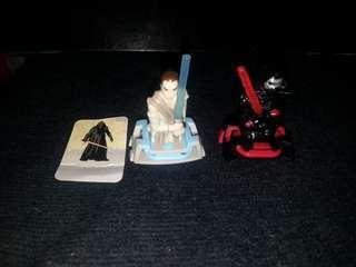星球大戰 出奇蛋 玩具2款