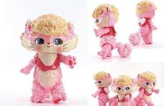 Retro designer toy 1960 1970 cat hello kitty  Barbie