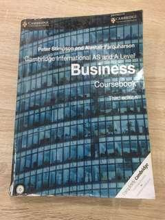 A levels Business Studies 3rd edition Textbook #NEW99