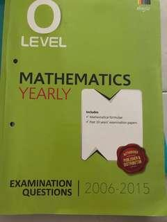O Level Math TYS Yearly