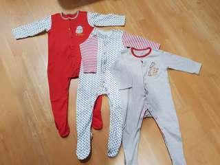 Mothercare Sleepsuit 9-12 mths