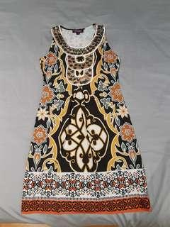 Dress with beautiful embellishment