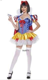 Deluxe Sexy Snow White Costume