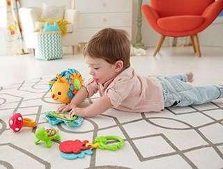 🚚 ~Ready Stocked~ Fisher-Price Moonlight Meadow Activity Set (mirrors and rattles and clackers)