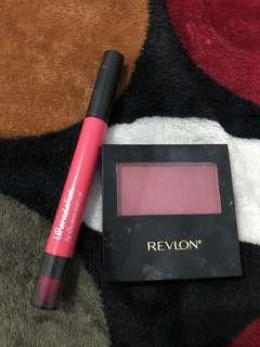 Blush On Revlon 004 Wine Not , Maybelline Lip Gradation shade Pink 1